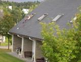 Naughty kids throwing mum's undies on the roof