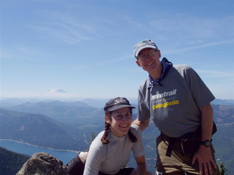 Kat & RonN Thorp Mt Mile 86