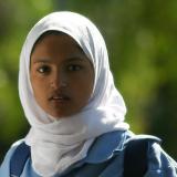 Young girl in islamic dress