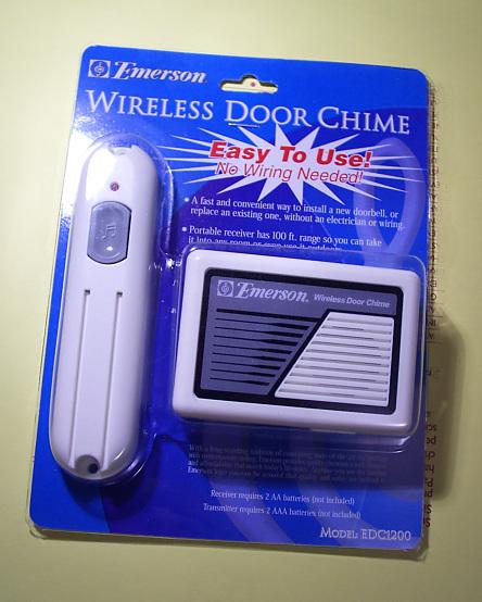 Emerson Wireless Door Chime
