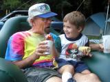 Paul Langlie with grandson Leif