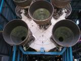 The business end of a Saturn rocket