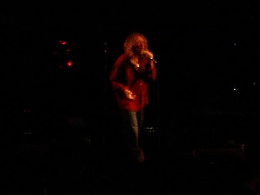 Robert Plant (from a long way away)