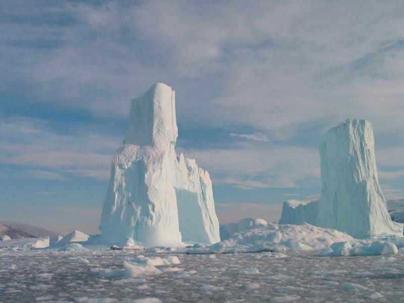 Twin Towers Iceberg
