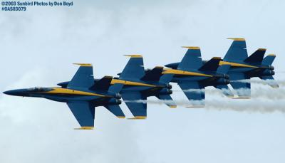 USN Blue Angels military aviation air show stock photo #6909