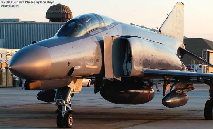 USAF F-4 Phantom II AF72-174 military aviation air show stock photo #6730