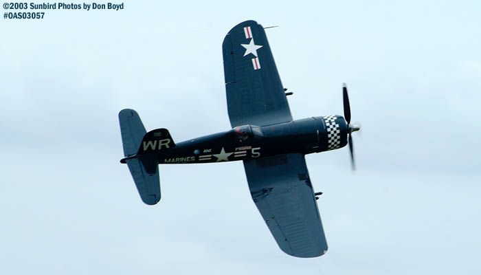 JRMC Inc.s F4U-5 Corsair N179PT warbird stock photo #6855