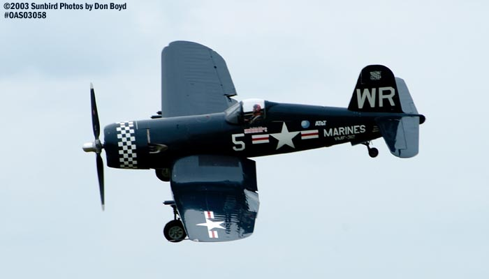 JRMC Inc.s F4U-5 Corsair N179PT warbird stock photo #6857