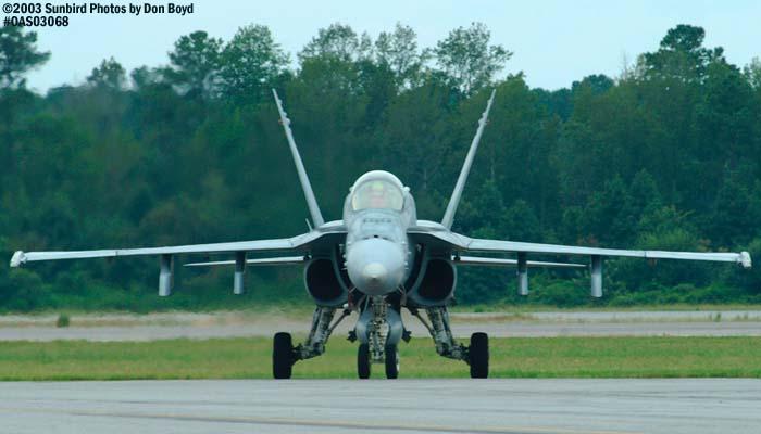 USN F/A-18 Hornet military aviation air show stock photo #6884