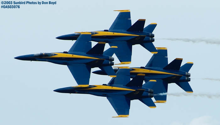 USN Blue Angels military aviation air show stock photo #6903