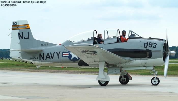 John J. Mitchards North American T-28C N240CG warbird stock photo #6952