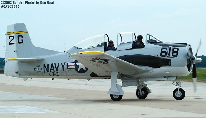 Mentor Flight LLCs North American T-28B NX194RR warbird stock photo #6953