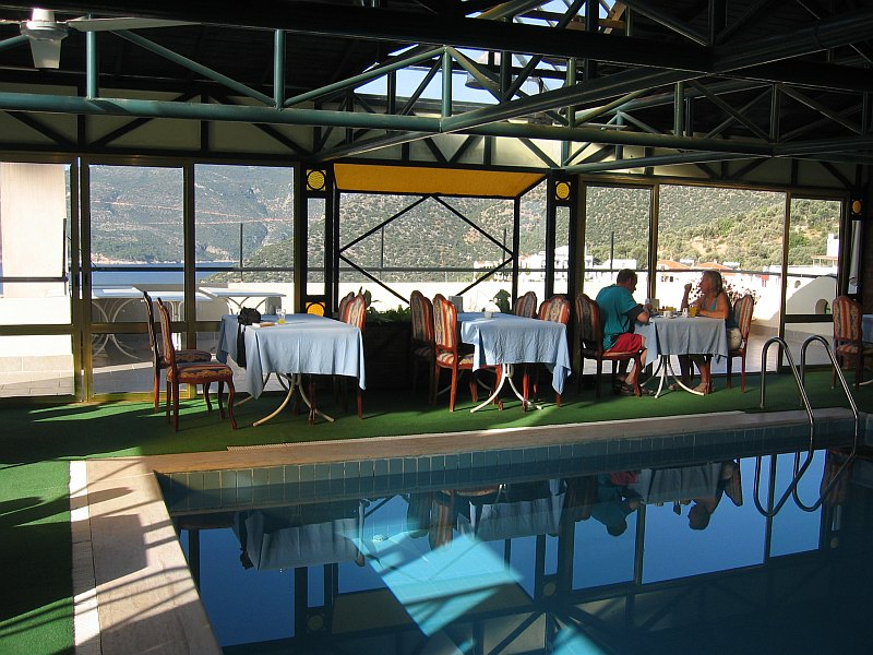 KalkanParadise Hotel - swimming pools and breakfast with a view