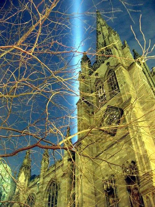 Trinity Church.  March 2002