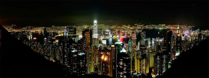 David Warren: Hong Kong by Night