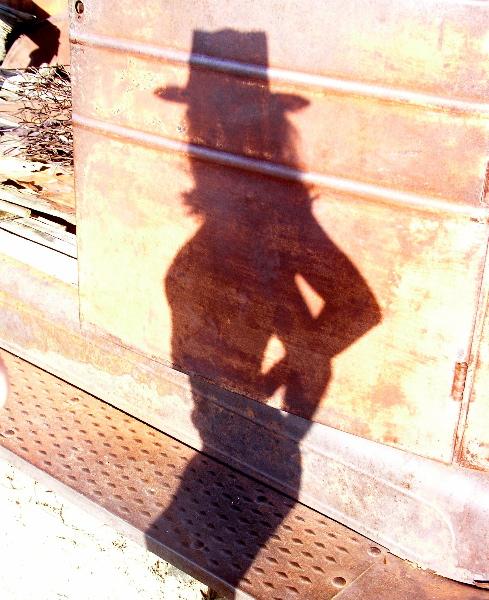 Truck Shadow - Joshua Tree