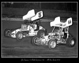 Jan Opperman & Ralph Quarterson - All Star Sprints 1970