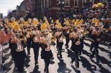 Here comes the marching band