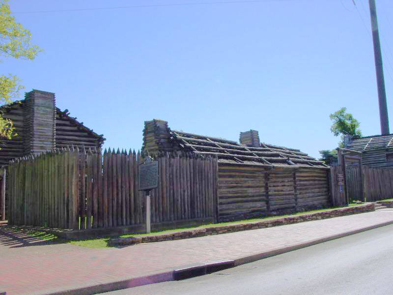 Nashville Fort Nashborough