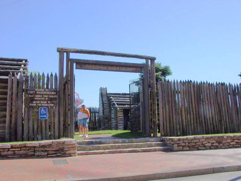 Fort Nashborough Entrance