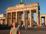 Debi at Brandenburg Gate