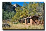 Abandoned Shack, West Fork Trail
