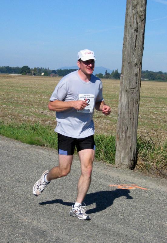 Leader on the way back<br>Mike McKelvey</br>