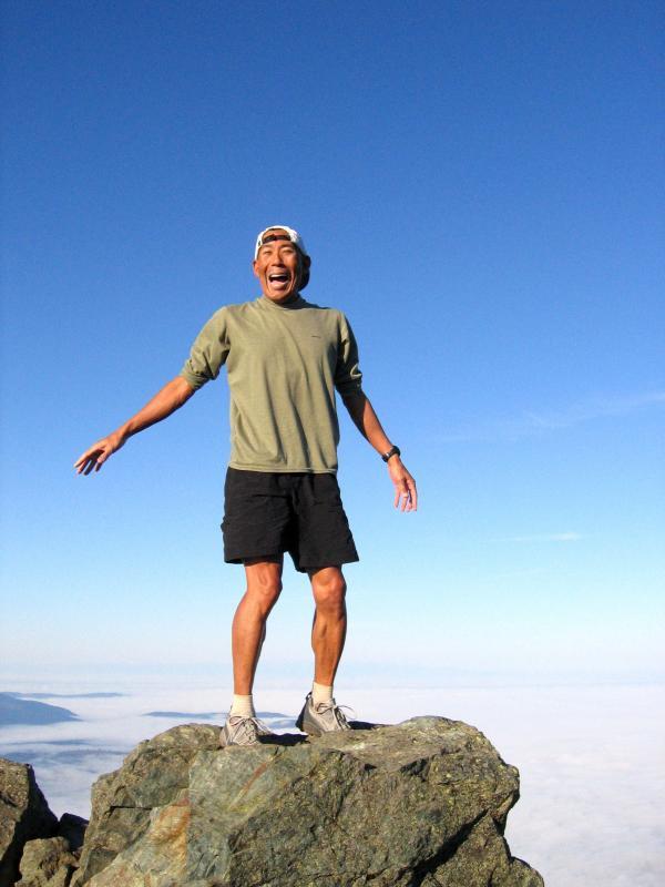 Top of Haystack...AAAAH!!!
