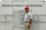 Dad at the WWII Memorial