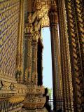 Shrine of the Holy Footprint (Wat Phutthabat), close up