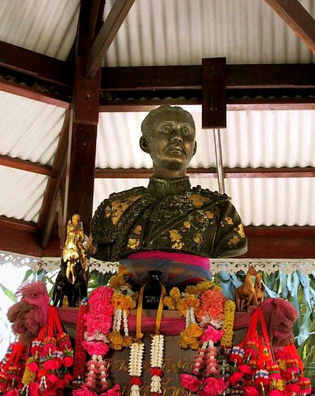 Shrine to King Chulalongkorn (Rama 5)