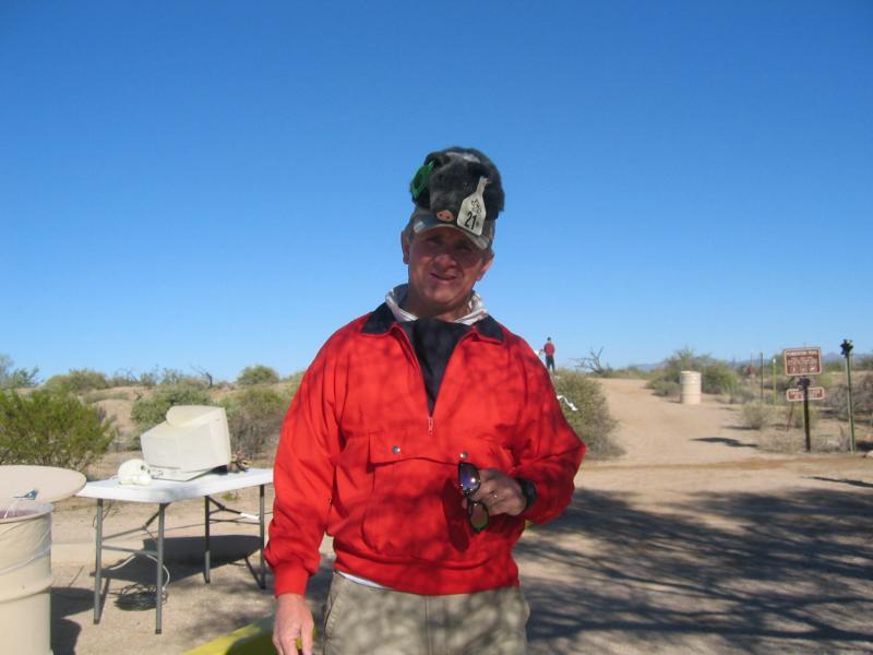 John Smithson, 2003 finisher and 2004 volunteer