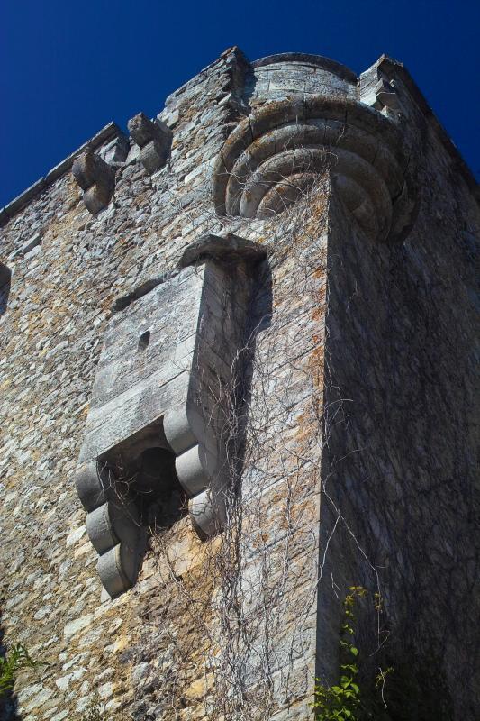 Labastide de Virac: Business End of a Medieval Castle