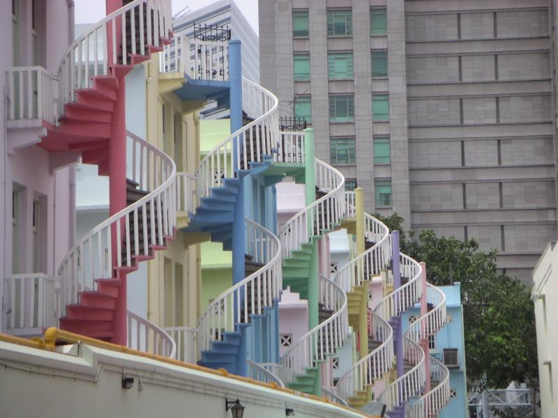 Staircases, Singapore