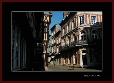In a street of Bernay