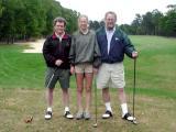Sarah is introduced to golf - bad idea