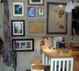 fly tying area