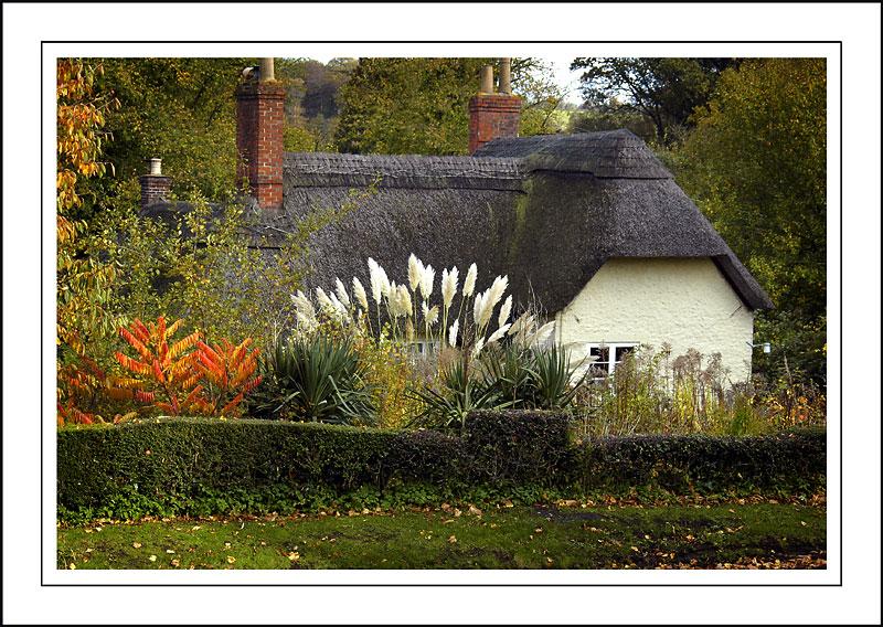 Longleat ~ thatched cottage, Horningsham