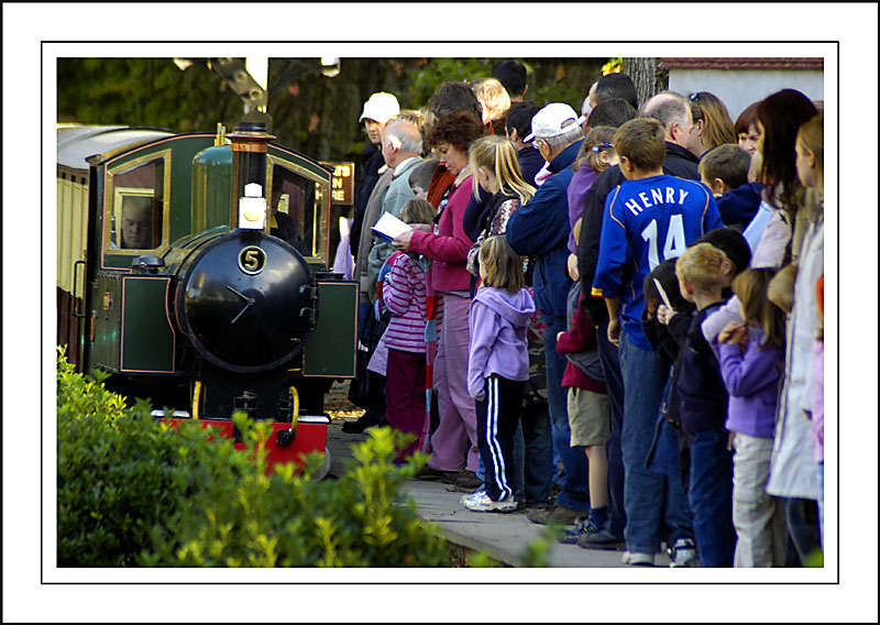 Longleat ~ the train now arriving