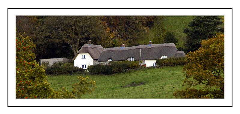 Thatched cottage, Horningsham