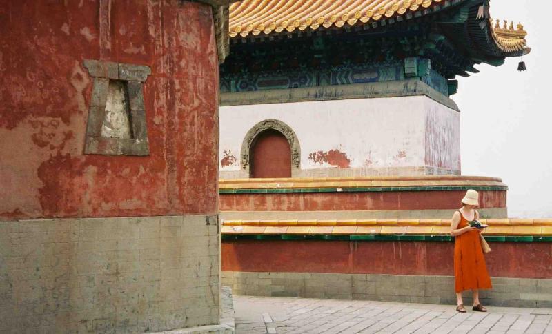 Tina Brady @ China 2003