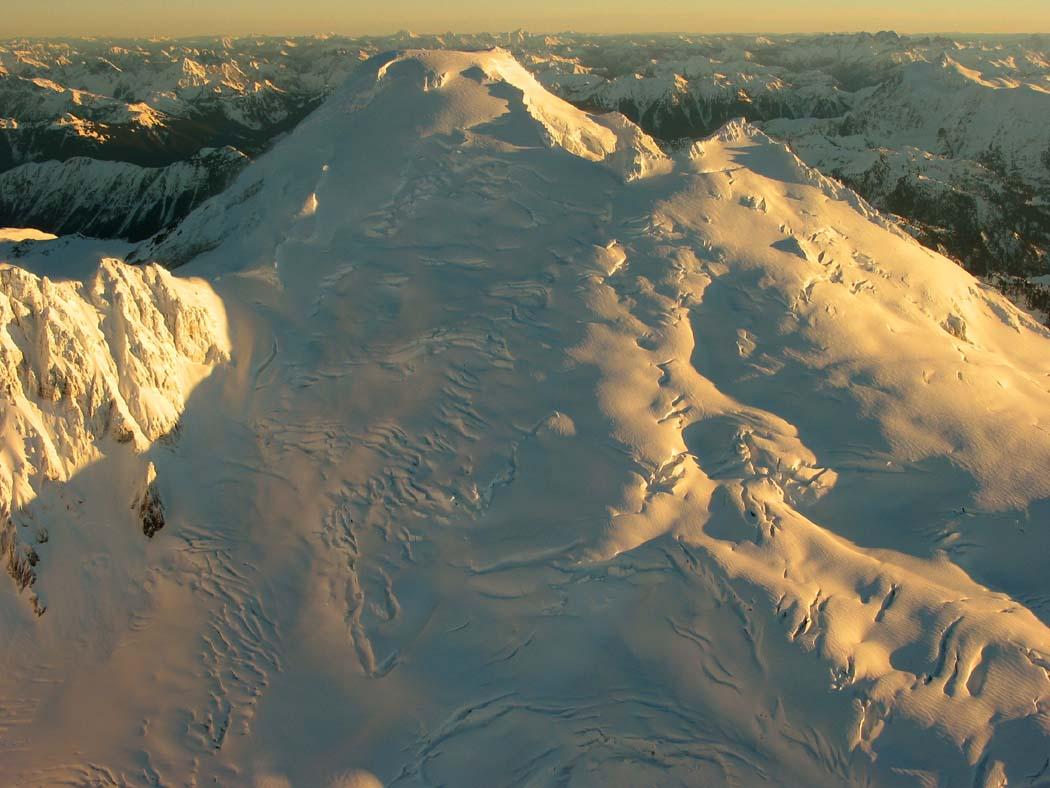 Sunrise, SW Face: January 6, 2003 (MtBaker010603-32adj.jpg)