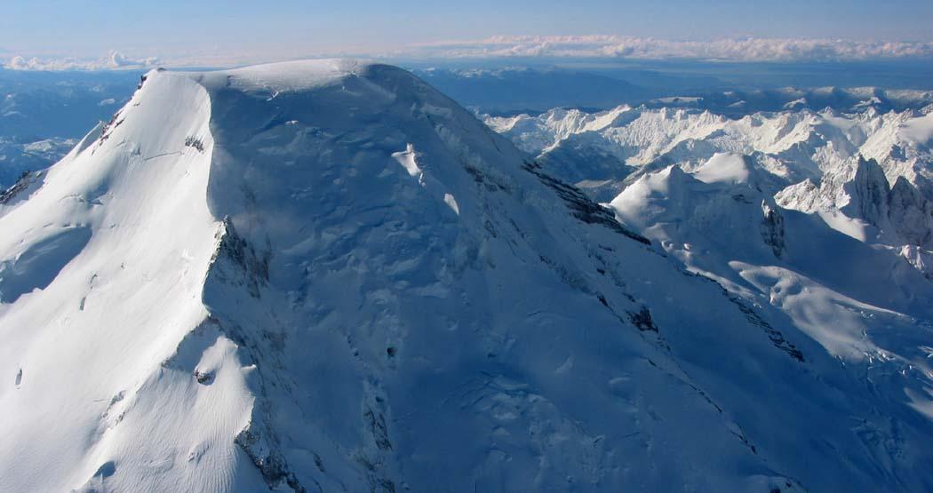 Park Glacier Headwall (L) & Upper Roosevelt Glacier <br>(MtBaker022303-23adj2.jpg)