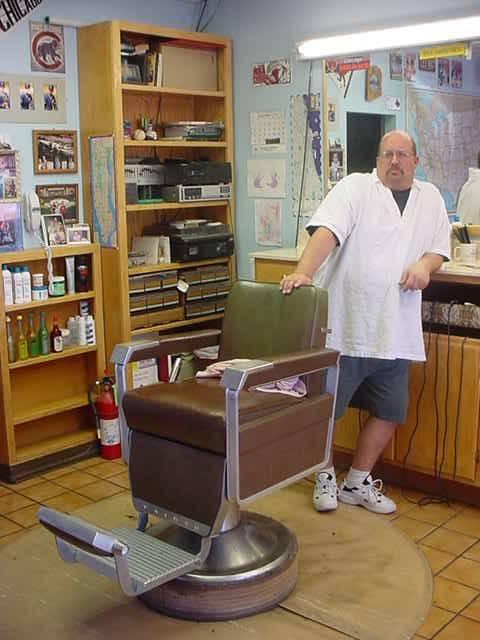 bill waiting . . .<br> to cut my hair