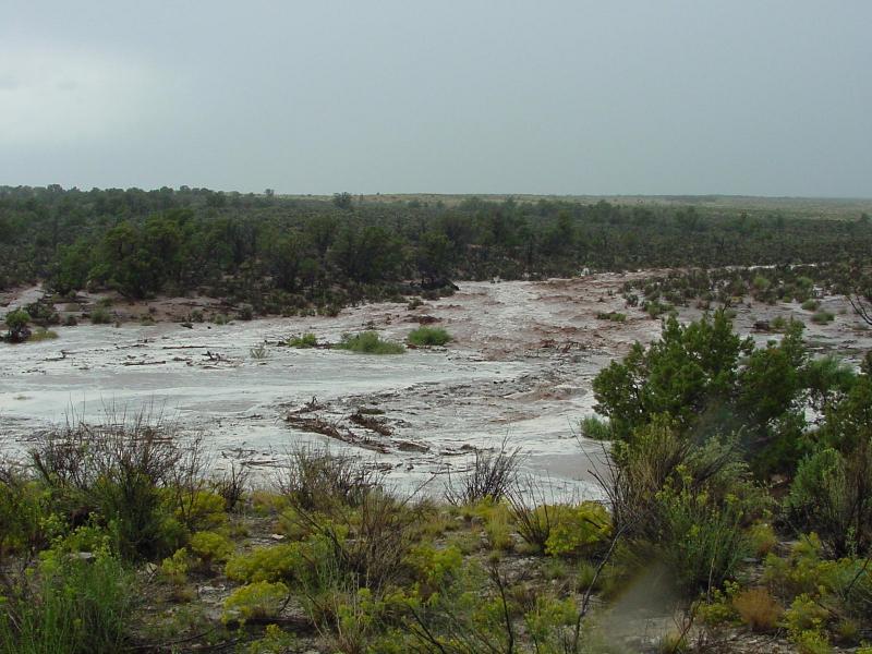 2003 flooding near Mexican Hat, Utah