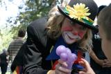 The caring clown