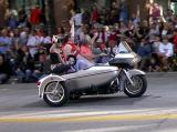 Four passenger Harley