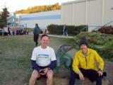 Ron and Jim PreRace