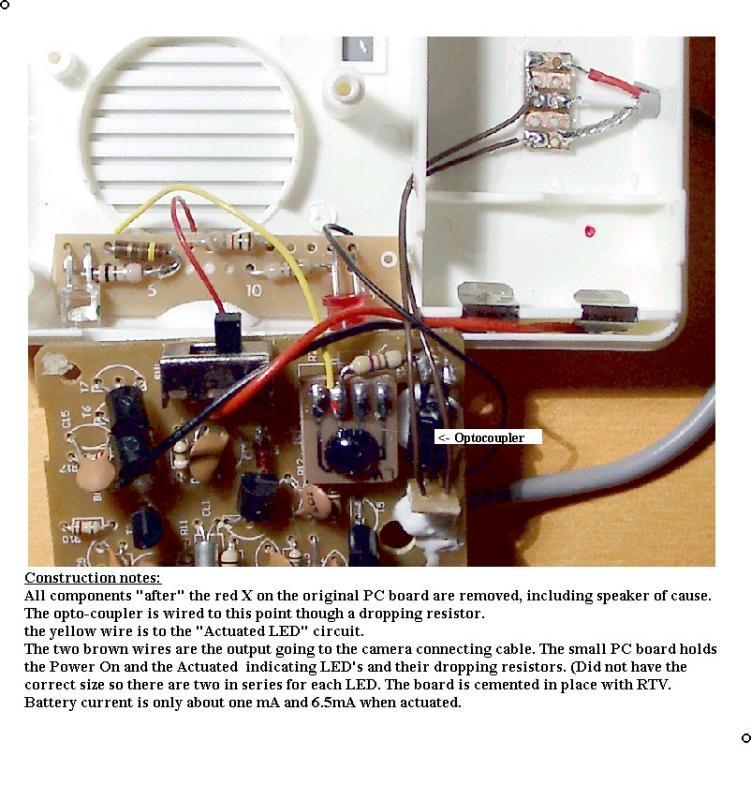 PC board modifications