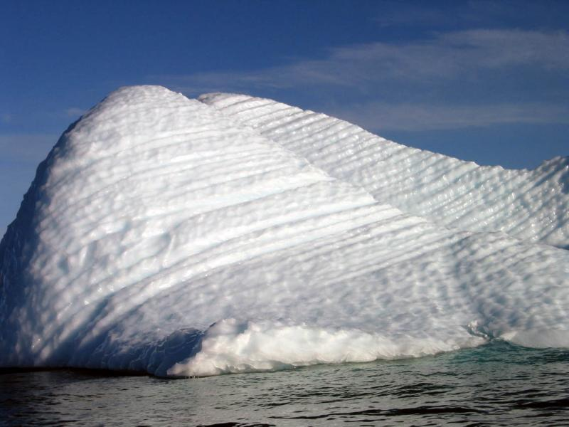 Iceberg looking like a tooth